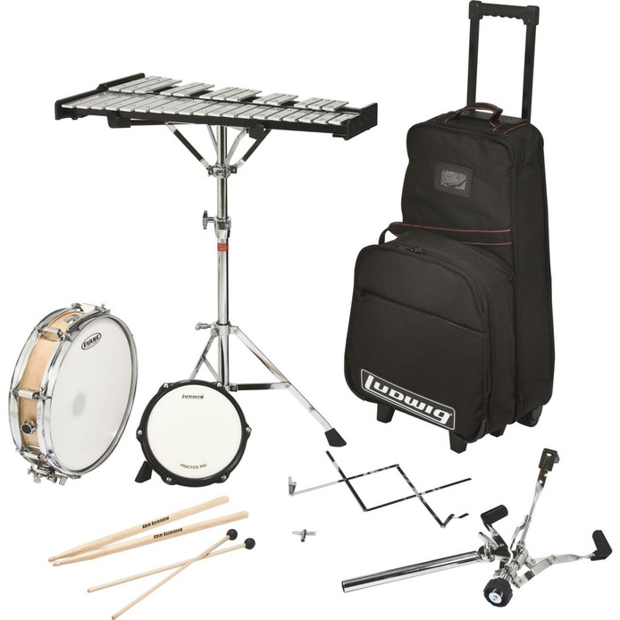 ludwig percussion learning center combo kit paul effman music. Black Bedroom Furniture Sets. Home Design Ideas