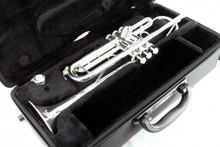 Certified Pre-Owned Yamaha Intermediate Bb Trumpet, Silver-Plated - YTR-4335GSII