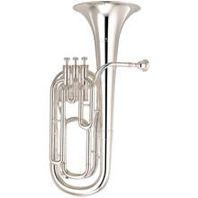 Yamaha Standard Bb Baritone Horn, Silver-Plated - YBH-301S
