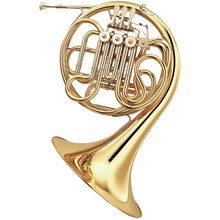 Yamaha Intermediate French Horn, Key of F/Bb - YHR-567