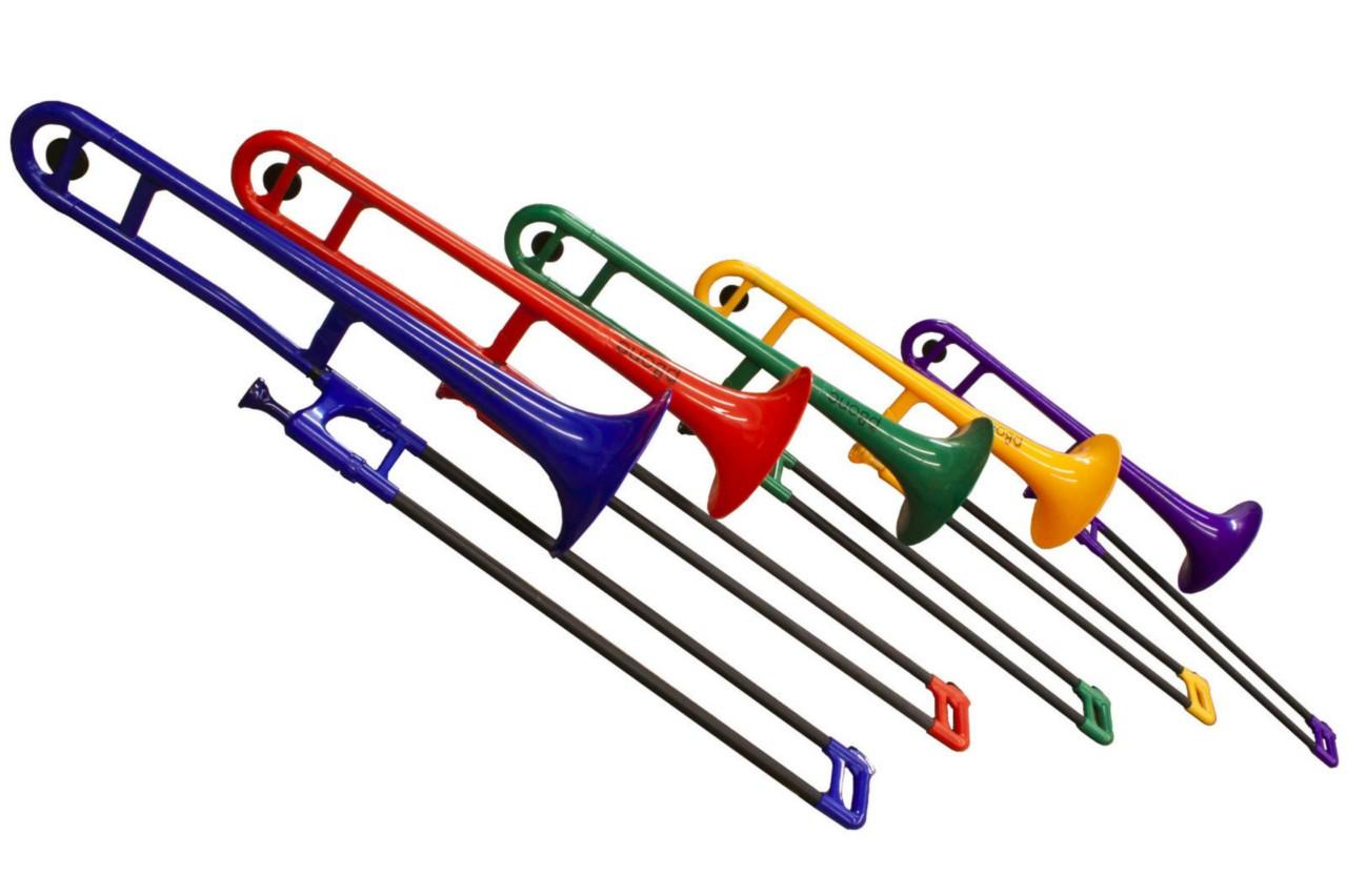 New Jiggs pBone PBONE1W Plastic Trombone Free Shipping White