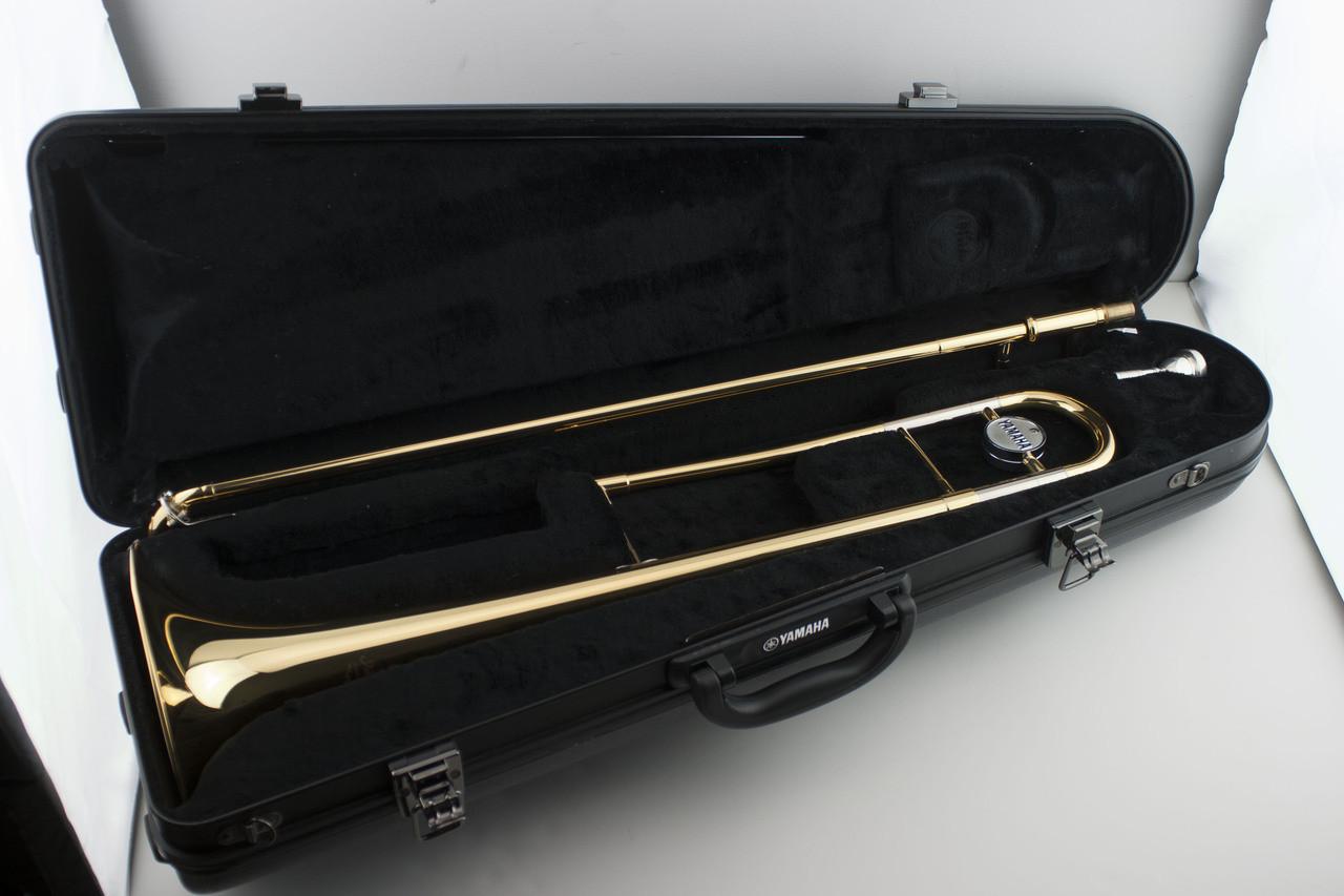 268ba30f089 Certified Pre-Owned Yamaha Advantage Tenor Trombone - YSL-200AD - 2 ...