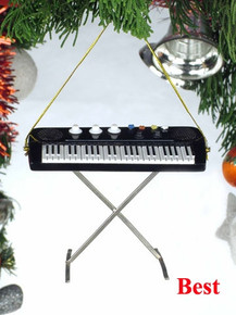 Broadway Gifts Holiday Ornament with Decorative Packaging - Keyboard