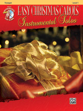Easy Christmas Carols Instrumental Solos - Tenor Saxophone
