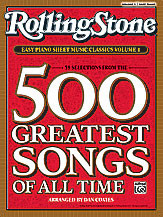 Rolling Stone Easy Piano Sheet Music Classics Volume 1