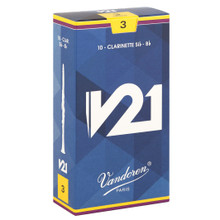 Vandoren V21 Bb Clarinet Reeds (10-pack)