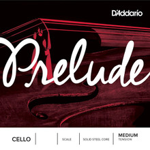D'Addario Prelude Cello Single String - Medium