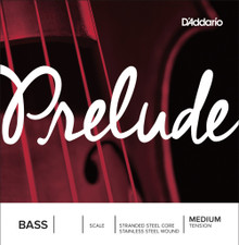 D'Addario Prelude Bass Single String - Medium