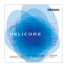 D'Addario Helicore Cello String Set - Medium