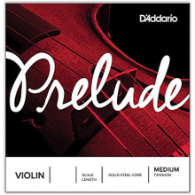 D'Addario Prelude Violin Single String