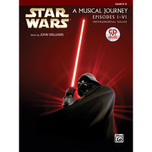 Star Wars Instrumental Solos (Movies I-VI) Book & CD