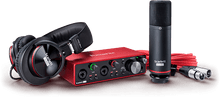 Focusrite Scarlett 2i2 Studio 3rd Gen Complete Recording Bundle