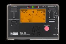 Korg TM-60 Metronome Tuner Combo Unit