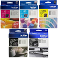 Brother LC133 Colour Cartridges Triple Pack  Extra Large