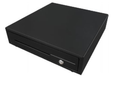 Maken CK-420 Cash Drawer with Black Front, 24V