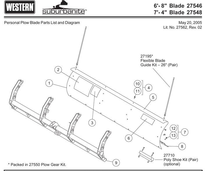 western snow plow parts diagram western suburbanite plow blade parts western snow plow wiring diagrams #13