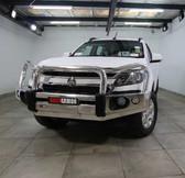 Holden RG Colorado Rockarmor alloy Hybrid Bullbar