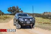 Nissan Navara NP300 Rockarmor Elite Bullbar + Rockarmor Rocksliders Combo