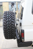 Light Extension Pole for Wheel carrier