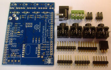 emonTx Shield SMT V2.5 - SMT assembled - thru-hole components supplied as kit, soldering required