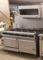 Therma-Tek 60'' 10 Burner Range, 2 Standard Ovens with DCS Cheese Melter