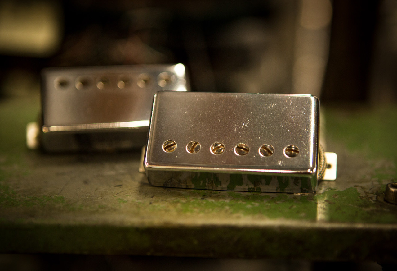 High Voltage Humbucker Set - Seymour Duncan Custom Shop