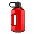 Water Jug Musashi Clear/Red 2.4ltr
