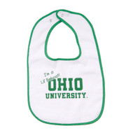 Infant Ohio University Snap Bib