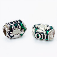 Ohio University, OU Paw Bead, Keith Chapman Jewelry