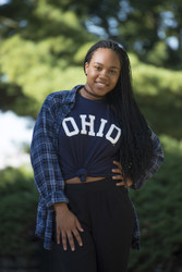 ARCHED BLOCK OHIO T-SHIRT