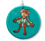 2011 Passion Works Studio Attack Cat Ornament