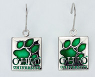 OHIO Paw Earrings
