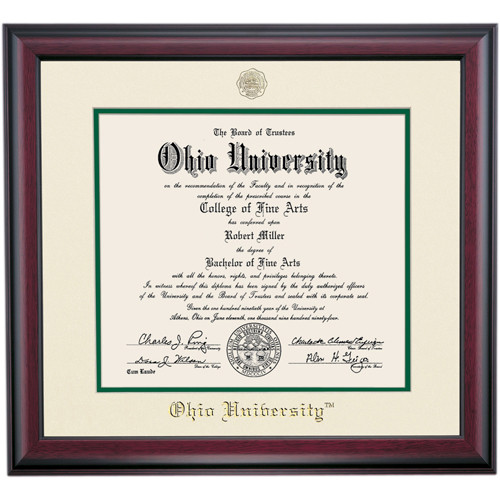 Traditional Style for Masters Diploma Frame - OHIO Alumni ...