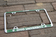 OHIO Alumni Chrome License Plate Frame