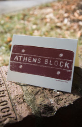 Athens Block Studio Note Cards