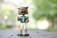 Rufus in his Football uniform Bobblehead