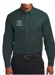 Men's and Women's Ebony Bobcat Network Buttondown Shirt