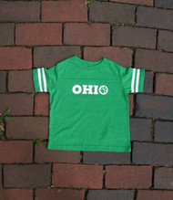YOUTH OHIO FOOTBALL JERSEY T-SHIRT