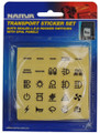 Transport Sticker Set Suits Sealed LED Rocker Switches