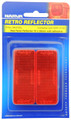 Narva Red Reflector Stick-On - Pair
