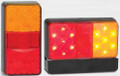 150 Series LED Combination Light Stop/Tail/Indicator with Licence Plate Lamp 12 Volt - Pair