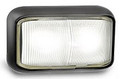 58 Series White LED Marker Light with Black Base