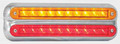 235 Series LED Combination Light Stop/Tail/Indicator with Chrome Bracket - 12 Volt