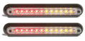 235 Series LED Combination Light Stop/Tail/Indicator with Black Bracket - 12 Volt - 2 Pack