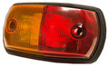 WHITEVISION LED Red/Amber Side Marker Light