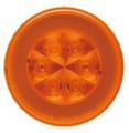 GloTrac 4 inch Round Amber LED Indicator Lamp