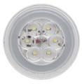 GloTrac 4 inch Round White LED Reverse Lamp