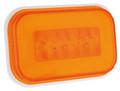 GloTrac Rectangular Amber LED Indicator Lamp
