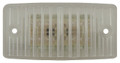 Rectangular Amber LED Cab Light with Clear Lens - Suits Freightliner