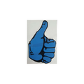 Sticker Thumbs Up Blue Left